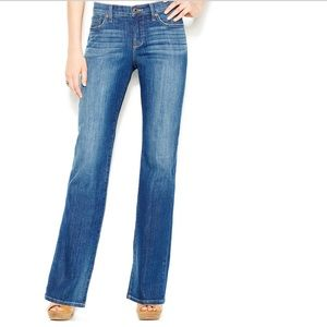 LUCKY BRAND Mid Rise Straight Leg Bootcut Jeans 28